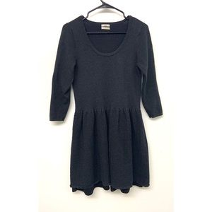 Wallace by Madewell Sweater Fit and Flare Dress M